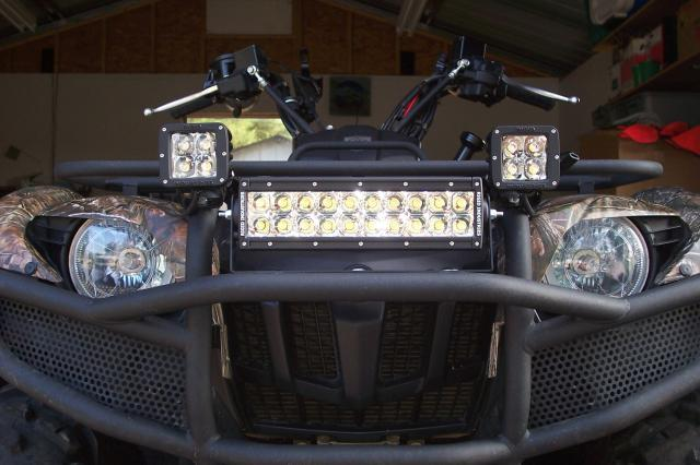 LED light bar ATV